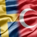 Swedish and Turkish flags, mostphotos