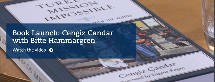 Cengiz Candar book launch